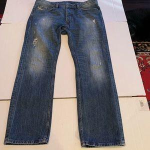Diesel Viker Regular Straight Mens Denim Jeans 36